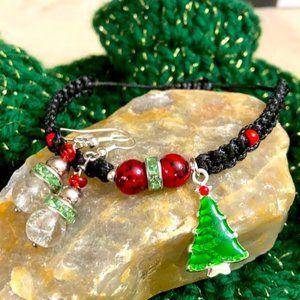 Christmas 🎄 tree braided macrame set